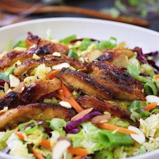 Paleo Asian Chicken Cabbage Salad.