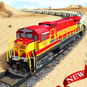 Oil Train Simulator : Free Train Games 2021 icon