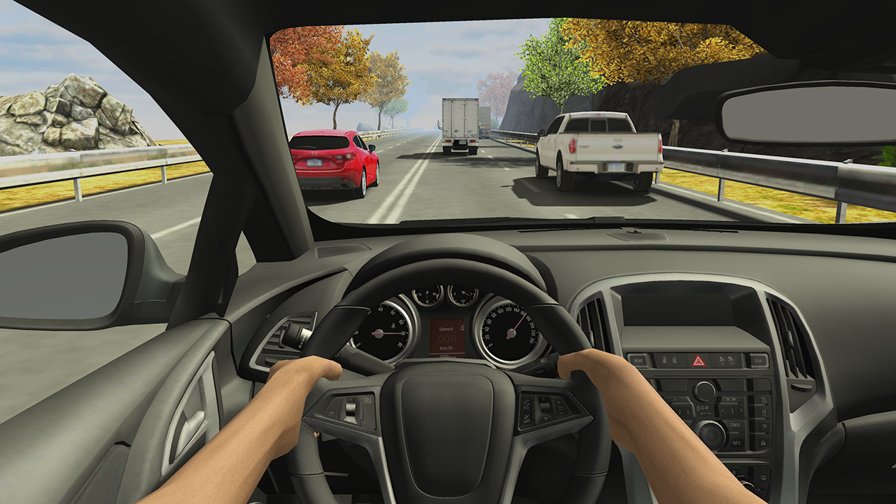 Racing in Car 2- screenshot