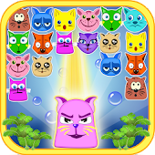 Funny Cats Bubble Shooter