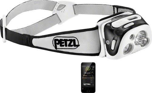 Petzl REACTIK+ Reactive Headlamp, 300 Lumens: Black