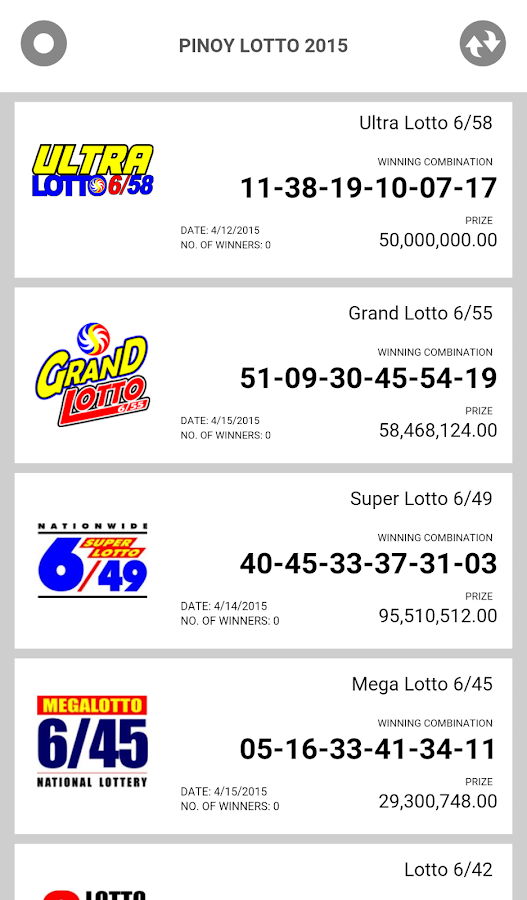 Pinoy Lotto Donate- screenshot