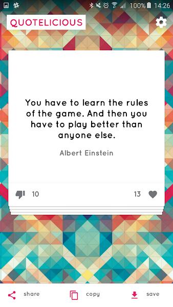 Quotelicious Quotes