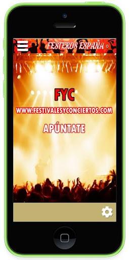 Festivales y Conciertos