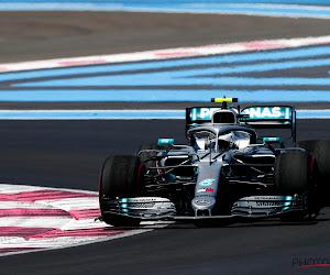Bottas klokt snelste tijd in vrije oefenritten Silverstone