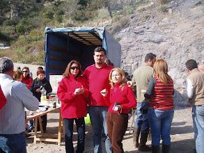 Photo: Pedro, Rosa y Araceli posan para la foto.