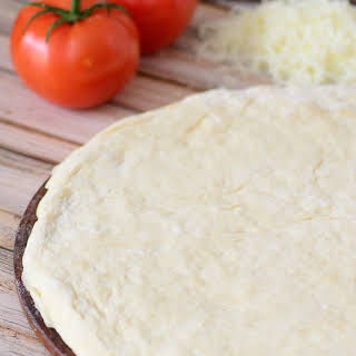 The Best, Lightest, Healthiest Pizza Dough Recipe EVER (Can be made with spelt or regular flour).