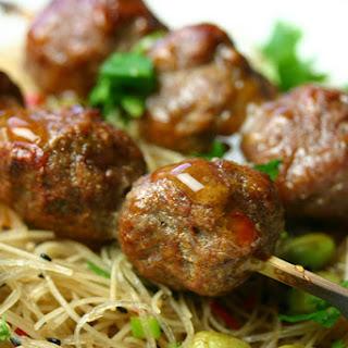 Vietnamese Grilled Pork Balls.