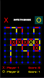 Dots To Boxes - náhled