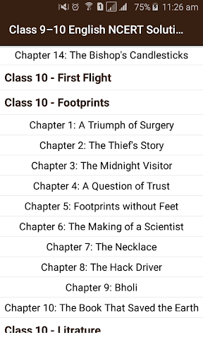 Download Class 9-10 English NCERT Solutions Google Play