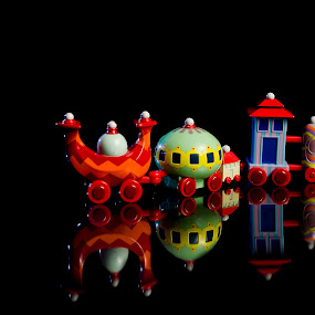 All Aboard the Ninky Nonk! by Chris Couper - Artistic Objects Toys ( night garden, in the night garden, child's toy, ninky nonk )