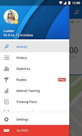 Runtastic Running & Fitness Screenshot 1