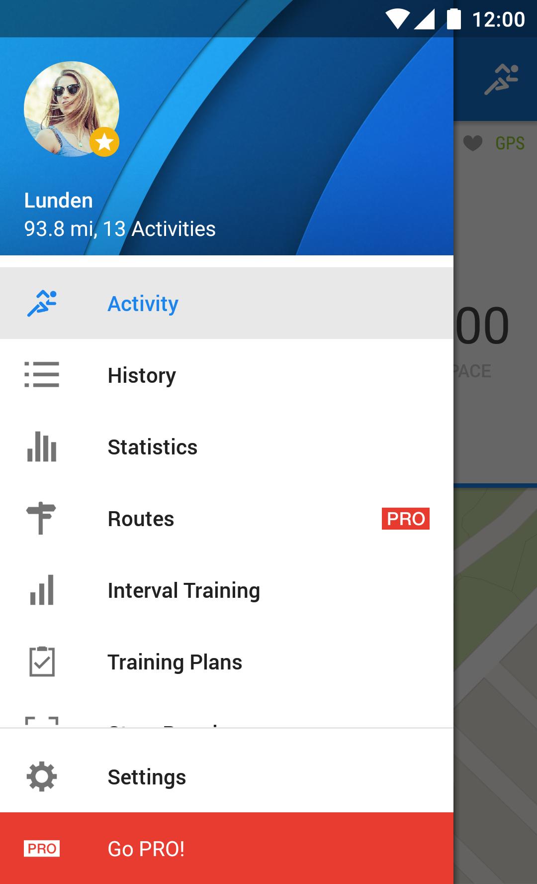 Runtastic Running & Fitness screenshot #6