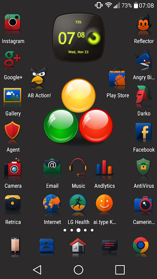 Reflector - Icon Pack- screenshot
