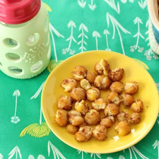 Soft Baked Honey-Cinnamon Chickpeas.