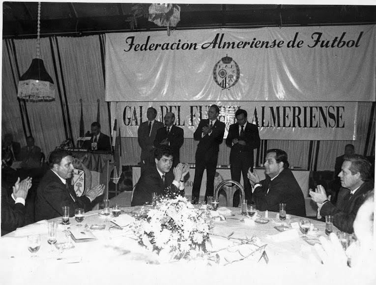 Con Ángel María Villar y Eduardo Herrera.