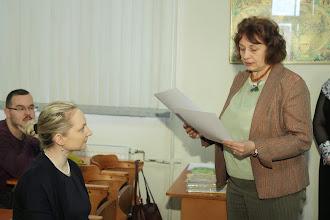 Photo: Natâlija Buile, Valsts izglîtîbas satura centra vecâkâ referente.