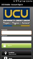 Screenshot of UCU Mobile Finance Manager