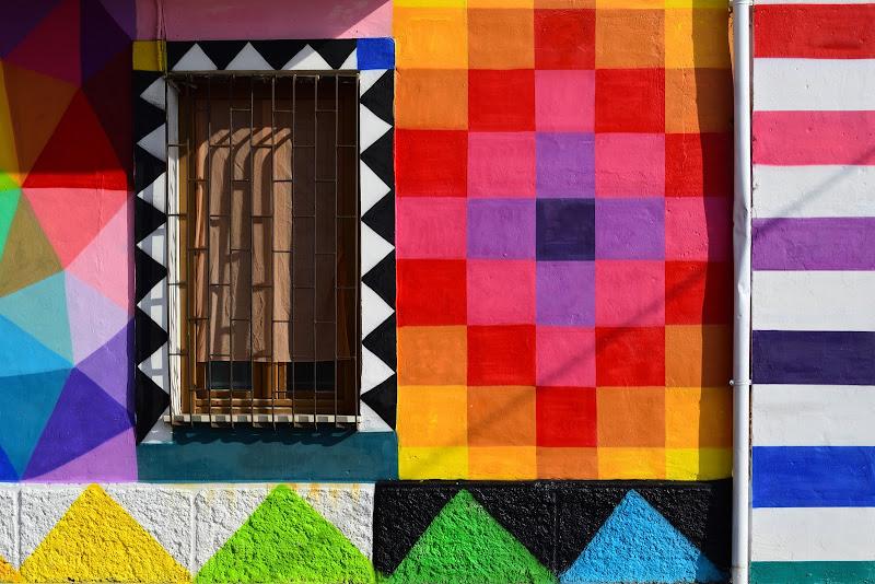 Muri colorati di Alescia