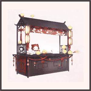 モモの屋台