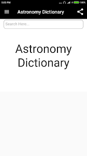 Astronomy Dictionary - Android Apps on Google Play