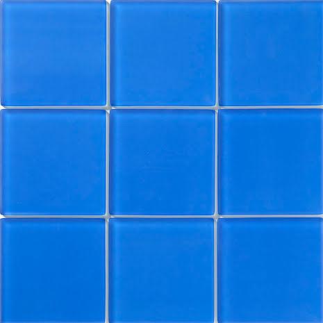 T155 Blå matt 98x98mm