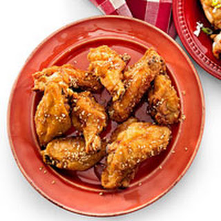 Sizzling Sesame Wings.