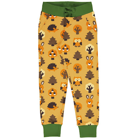 Maxomorra Sweatpants Yellow Forest