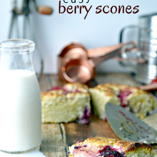 Easy Berry Scones