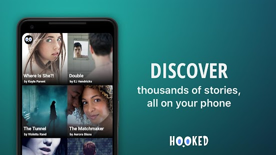 HOOKED - Chat Stories Screenshot