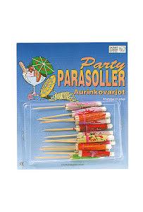 Partyparasoller, 12 st.