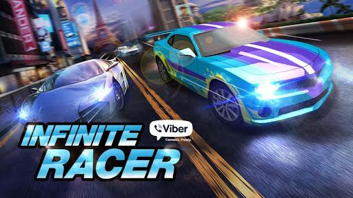 Viber Infinite Racer screenshot 1