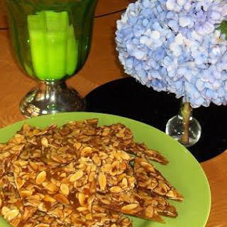 Italian Almond Brittle.