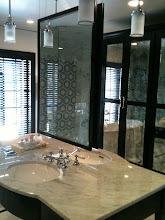 Photo: Framed Beveled Mirror