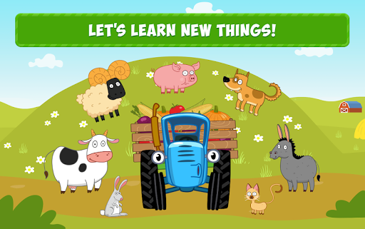 Blue Tractor: Learning Games for Toddlers Age 2, 3 1.0 screenshots 11