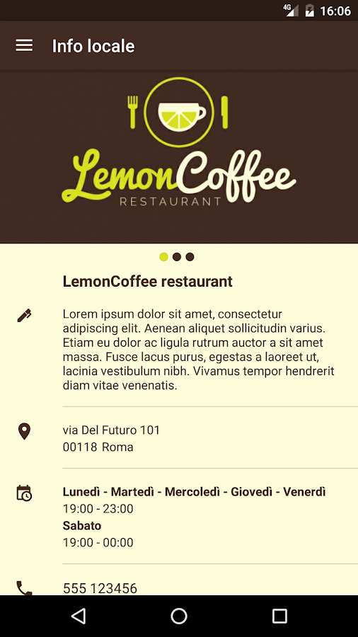 LemonCoffee- screenshot