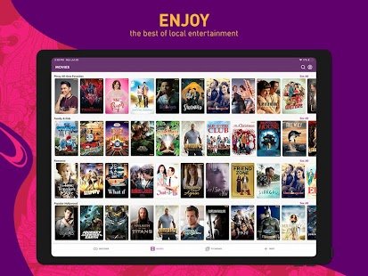 HOOQ - Watch Movies, TV Shows, Live Channels, News Screenshot