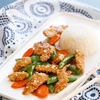Sweet Chili Sesame Chicken