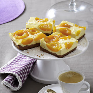 Apricot Cheesecake Squares