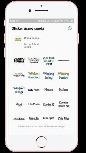Sunda Stiker Keren WAstickers - Urang Sunda screenshot 4