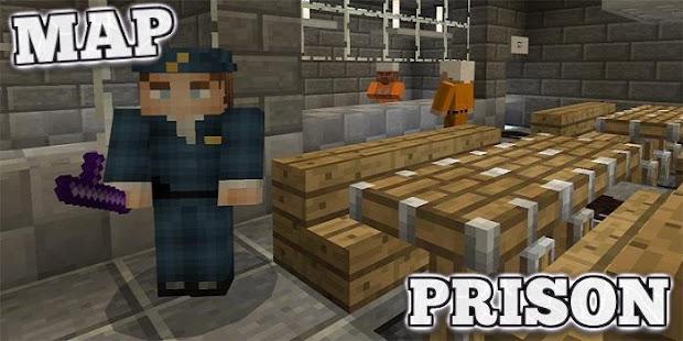 Prison Creation Map For Minecraft PE Apps Bei Google Play - Minecraft gefangnis spiele