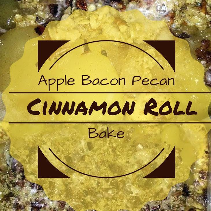 Harper'S Easy Apple Bacon Pecan Cinnamon Roll Bake Recipe