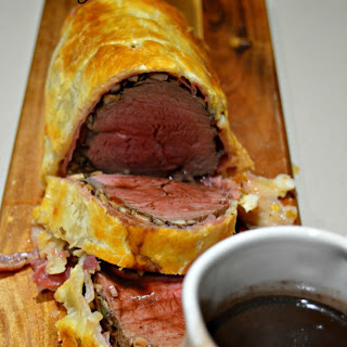 Gordon Ramsay's Beef Wellington.