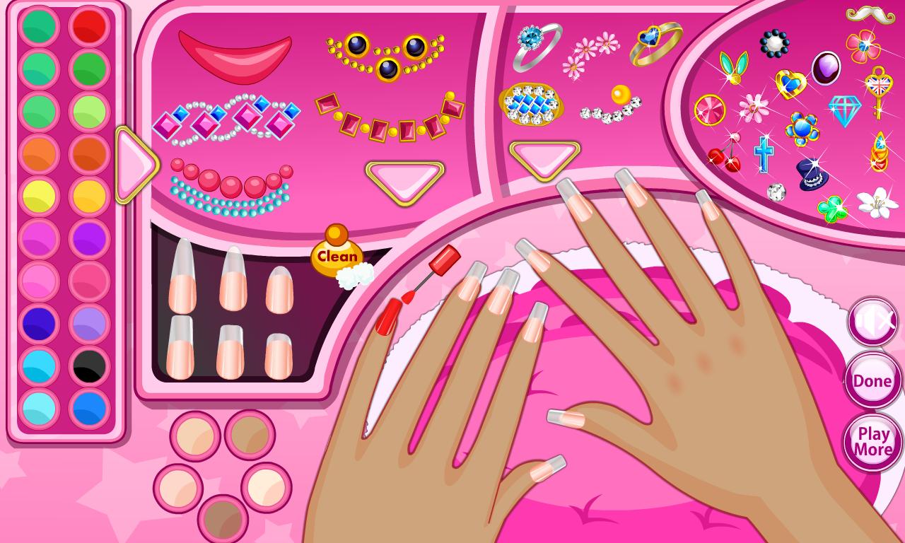 Nail Art Ideas barbie nail art games to play : Fashion Nail Salon - Android Apps on Google Play