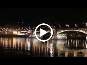Video: hungary, travel, margaret, bridge, budapest