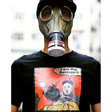 Batman kim tshirt (black)