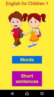 English for Children 1- screenshot thumbnail