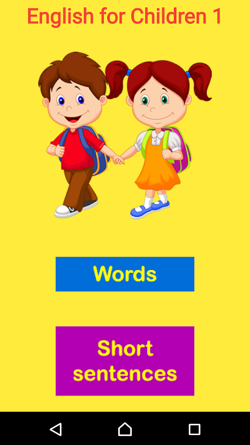 English for Children 1- screenshot