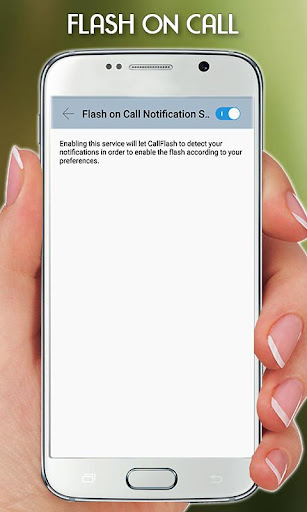 Flash Light on Call & SMS 1.2.1 screenshots 5