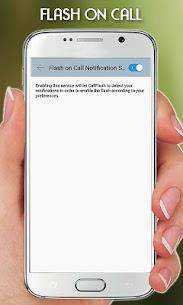 FlashLight on Call – Automatic Flash Light Blink 5